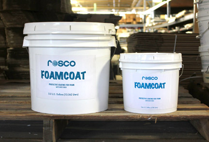 FoamCoat in single and 3.5 gallon buckets