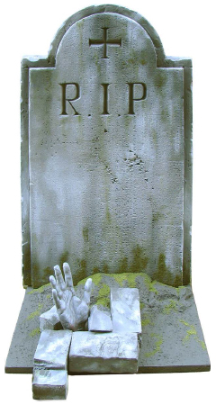 FoamCoat Tombstone