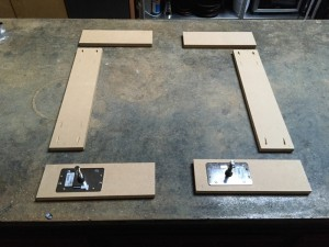 Prepping the MDF