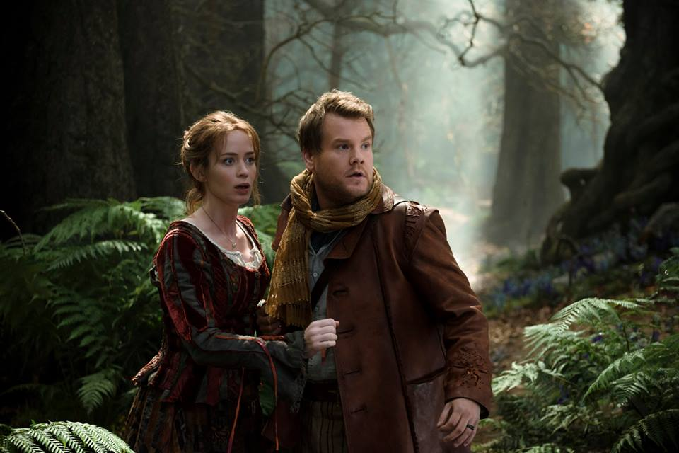The Baker and The Baker's Wife venturing Into the Woods