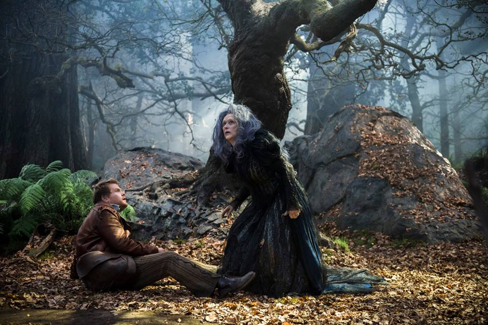 The Witch & The Baker in the mist of the woods