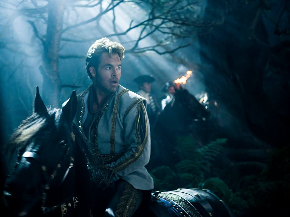 Chris Pine stars as Prince Charming in Disney's Into the Woods