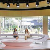 Providing The RoscoVIEW For Al Jazeera Studios
