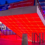 The Bright Red Heart of Almere's City Mall