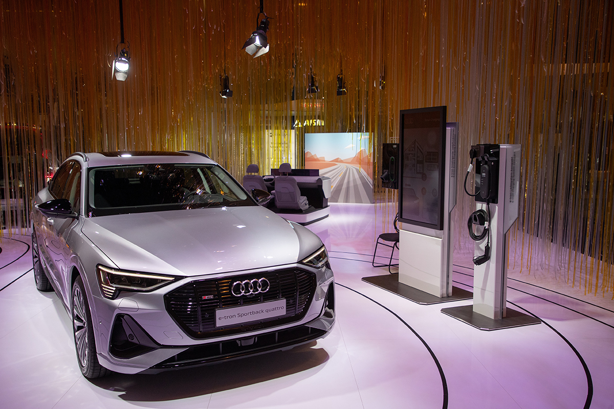 Audi innovations at CES 2020