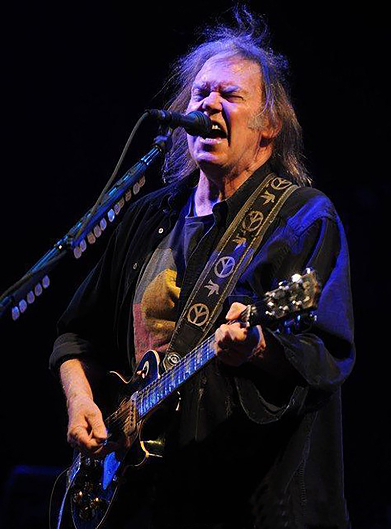Neil Young Lighting Design