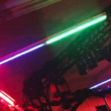 """Turning Necessity Into Artistry <br>""""Cabaret"""" Pre-Show Lighting With Fluorescent Bulbs"""