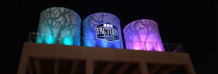 Highlighting An Iconic Dallas Landmark With Gobo Projections