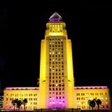 L.A. Sentimental <br>Expressing the Mood of City Hall with Color