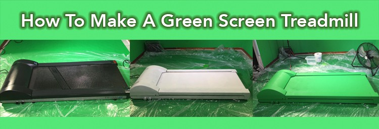 How To Paint A Green Screen Treadmill In 3 Steps