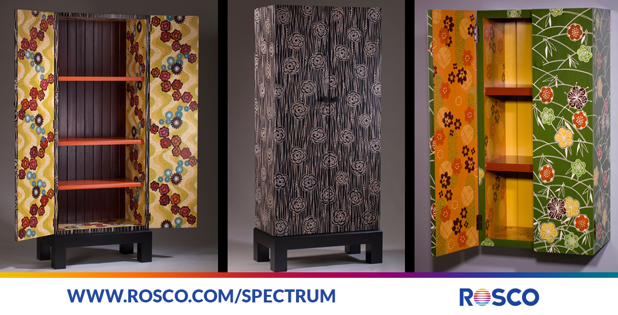 Introducing Furniture Designers To Roscou0027s Supersaturated Hues | Rosco  Spectrum