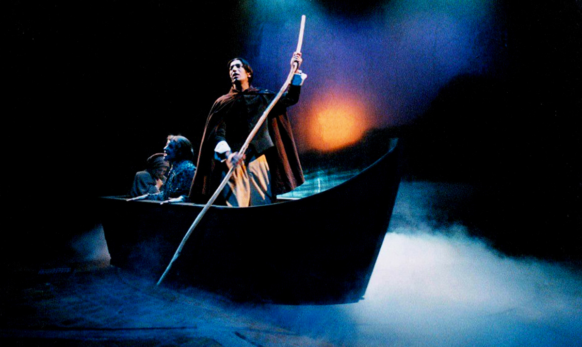 "Our first project together – a scene from ""I Promessi Sposi,"" which won Best Italian Musical in 2002"
