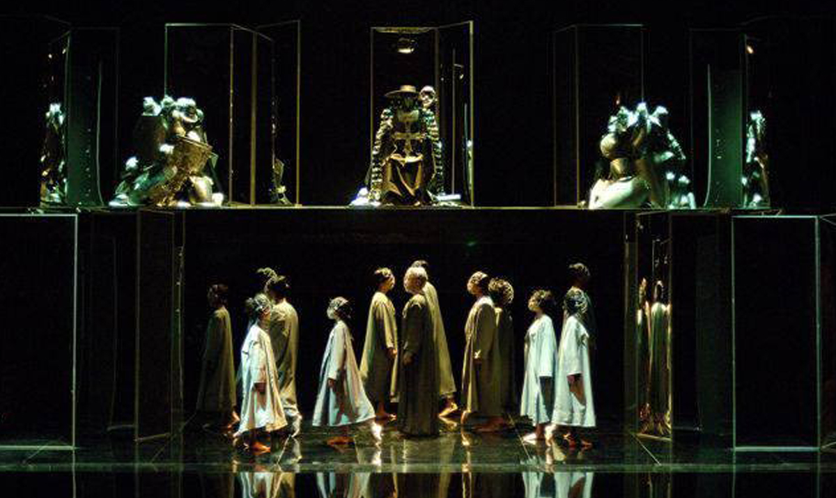 A different color palette for Francesca da Rimini by Sergei Rachmaninoff- Greens, not Reds and Oranges to describe Dante's Inferno.