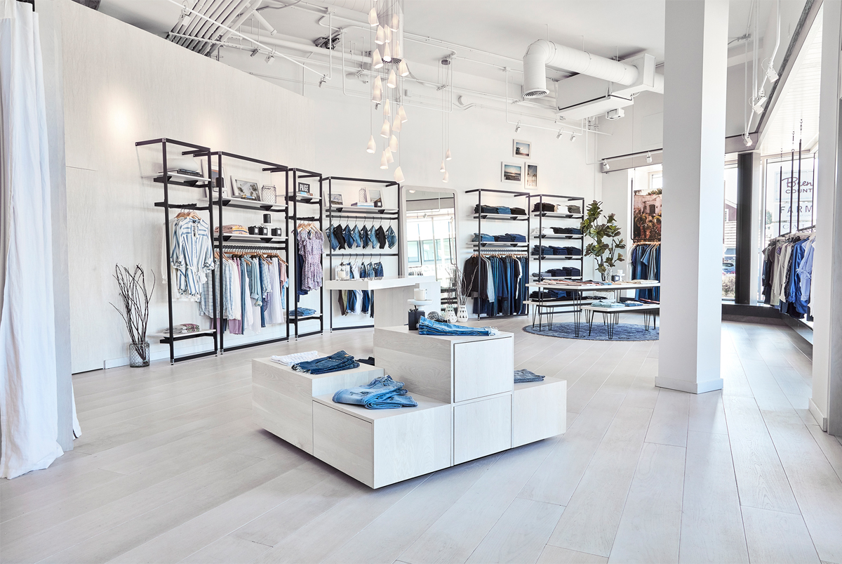 4 ensure that the fixtures are a cohesive part of the overall store design