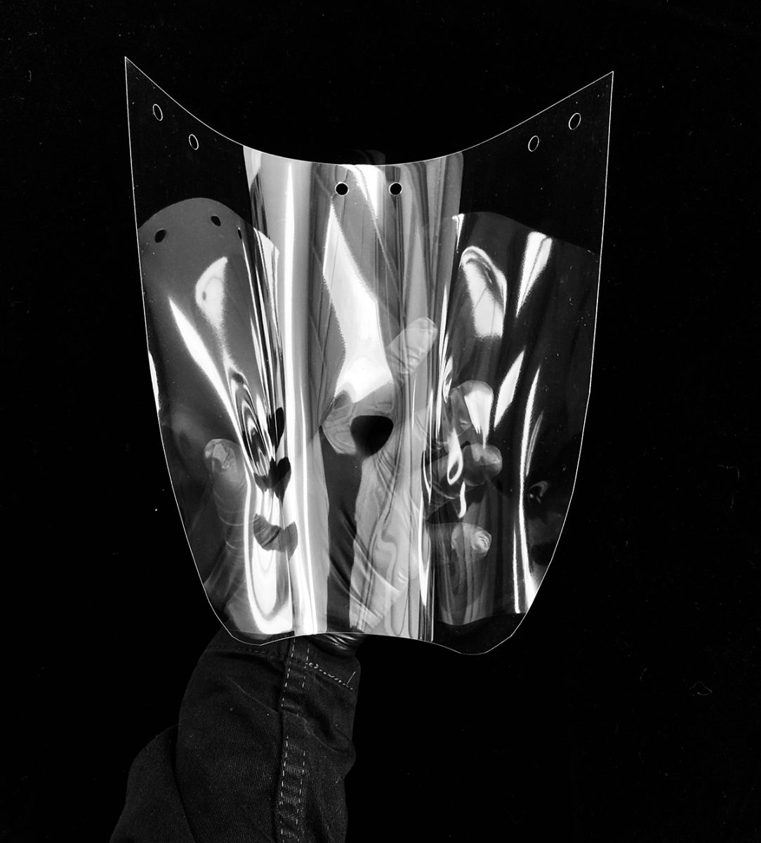 clear films to make face shields